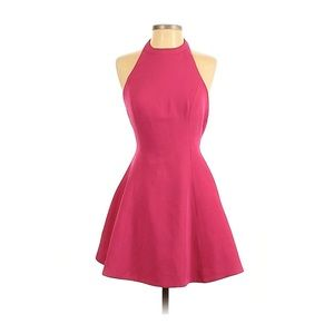 Keepsake the Label Sleepwalker Dress in Hot Pink